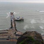 Vistas del Restaurante la Rosa Nautica