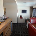 The suite gave us plenty of room to entertain and socialize.