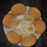 Banana Pudding made from scratch by the owner himself, well-sought after at any meal time.