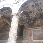 Archway and beautiful ceilings, walls, and columns