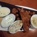 3 fried seafood