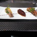 Entrée duo de foie gras