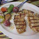 Fish Fillet with grilled vegetables