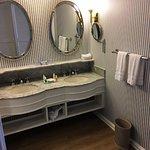 King room double vanity