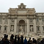 Trevi with the crowds