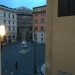 View from hotel window - Pantheon straight ahead