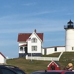 Cape Neddick Lighthouse. I discovered this same picture is a painting in some Red Lobsters.