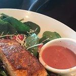 Salmon and Strawberry Salad