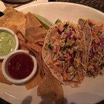 Excellent fish tacos!