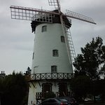 Windmill in yard of Penny Royal