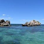 Beautiful limestone islands that dot the shoal water marine park
