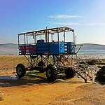 Taxi! All aboard for Burgh Island...