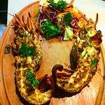 Rock lobster...