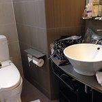 bathroom well designed good shelves under basin bench