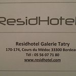 Photo de ResidHotel Galerie Tatry