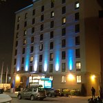 The hotel during night