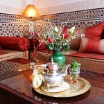 Einen Minz-Tee erhalten unsere Gäste gratis zur Begrüßung