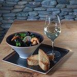 Mussels Sochi: Кухня