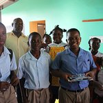 St. Johns Anglican school where we donated books, school supplies, and dresses