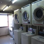 Coin-operated washing machine and dryers