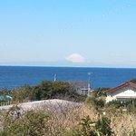 洲崎神社近くから富士山