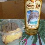 Rum & Rum cake slice
