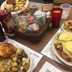 The best eggs  Benny, steak hash and chili omelette ever!!  A must try!!