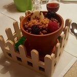 Dessert at the Hotel's Restaurant