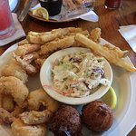 Fried Shrimp, Crab Trap, Fernandina Beach, FL