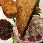 Chef's Terrine & Broadside Chutney with toasted Focaccia