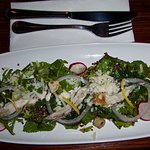 Kale-Quinoa Ceasar salad