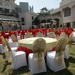 Fabulous outdoor location for a wedding