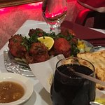 Thali of India - chicken tandoori
