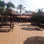 'pool' bar area