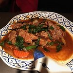 Crispy Duck in Thai Basil Sauce - Delicious