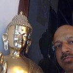 Buddha statue in lobby