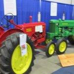 Vintage Farm Equipment On display