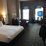 Wonderful boutique hotel in Vieux Montreal, with old-world atmosphere and modern conveniences.