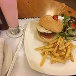 Room-service burger