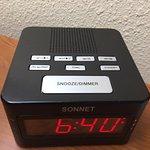 a confusing alarm clock