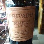 Our favorite Malbec we found in El Muro restaurant