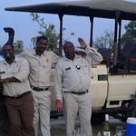 the awesome guides / drivers setting up sundowners