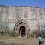 The Barabar Caves are the oldest surviving rock-cut caves in India