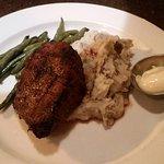 Steak with Garlic Mash