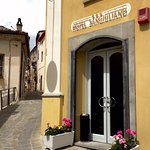 Entrance to the Hotel San Giuliano