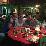 Mi mejor amigo y mi nueva alma gemela en la primer noche en Zipolite!! Deliciosos Recuerdos!!