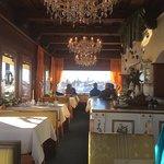 Blick aus dem Cafe Richtung Bodenmais