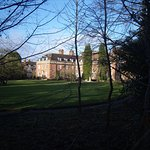 St. Hugh's College occupies a 14-acre site in the residential suburb of North Oxford.