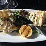 calamari alla griglia (Grilled squid)
