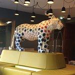 Hotel lobby cat!